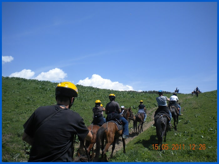 Horse riding tours, Kyrgyzstan tours.